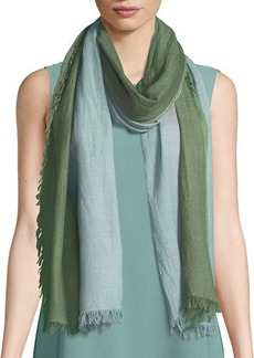 Eileen Fisher Wool/Silk Ombre Gauze Scarf