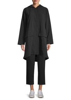 Eileen Fisher Woven A-Line Jacket