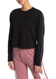 Electric Bazar Zip Sleeve Top