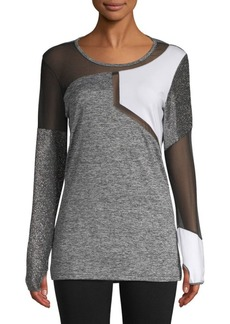 Electric Colorblocked Cotton Top