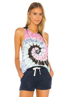 Electric & Rose Bodie Twist Tank