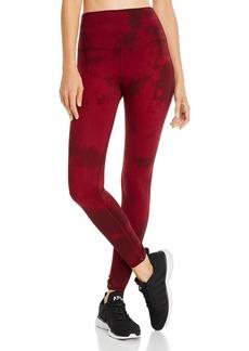 Electric & Rose Portia Tie-Dye Twist-Cuff Leggings