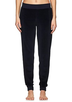 Electric & Rose Women's Chase Cotton-Blend Velour Jogger Pants