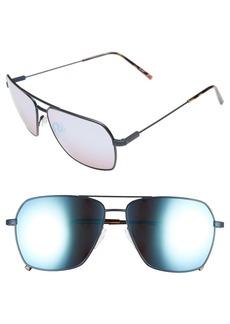 ELECTRIC 'AV2' 59mm Navigator Sunglasses