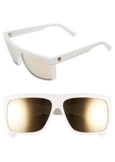 ELECTRIC 'Black Top' 60mm Flat Top Sunglasses