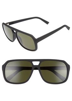 ELECTRIC Dude 57mm Aviator Sunglasses