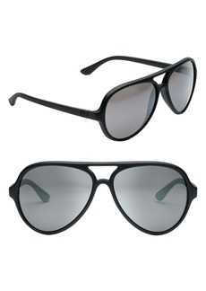 ELECTRIC Elsinore 55mm Polarized Aviator Sunglasses