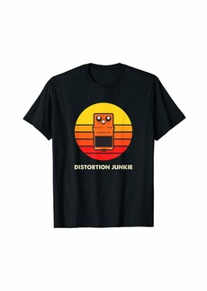 Electric Guitar Player Distortion Pedal Gift T-Shirt