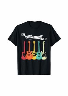 Electric Guitar Retirement Plan Music Teacher T-Shirt
