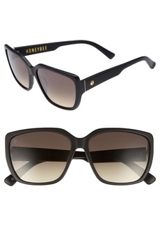 Electric Honey Bee 60mm Mirrored Sunglasses