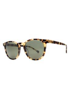 Electric Oak 58mm Round Sunglasses