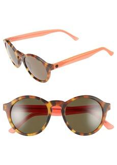 ELECTRIC 'Reprise' 50mm Round Sunglasses