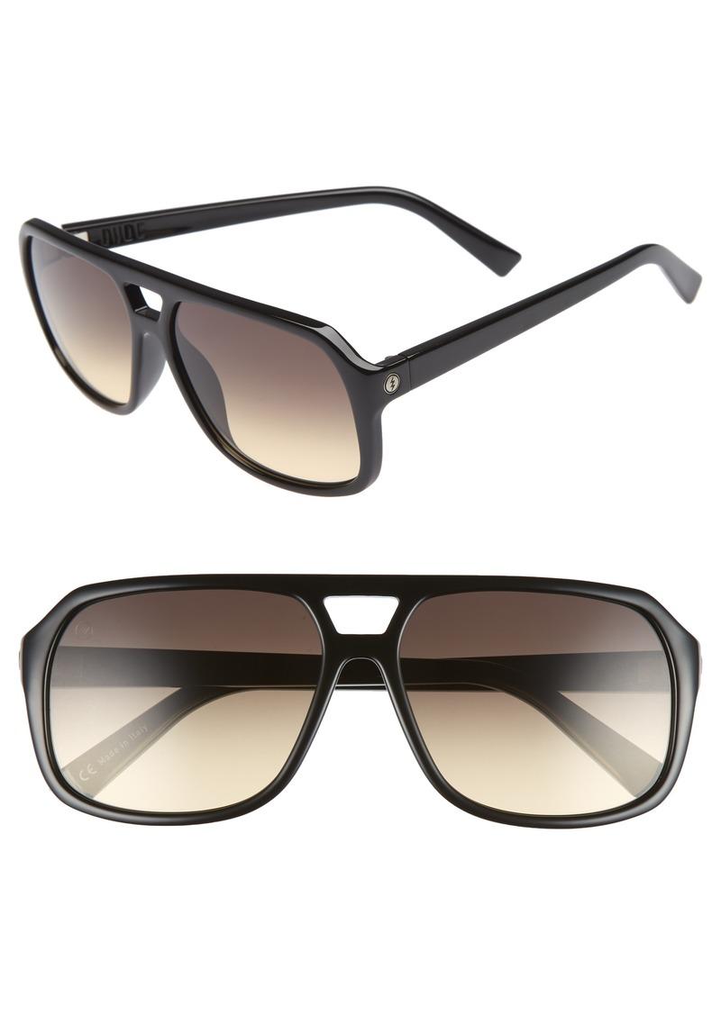 4e045ea8584 Electric ELECTRIC The Dude 57mm Melanin Infused Aviator Sunglasses ...