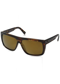 Electric Visual Black Top Gloss Tort/Polarized Bronze Sunglasses