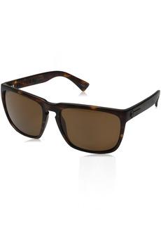 Electric Visual Knoxville XL Matte Tortoise/OHM Polarized Bronze Sunglasses
