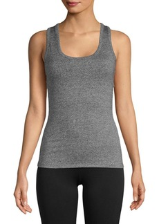 Electric Lace-Up Stretch Tank Top