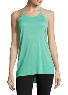 Electric Solid T-Back Tank Top