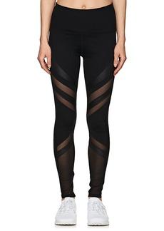 Electric Yoga Women's Mesh- & Jersey-Inset Leggings