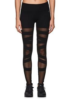 Electric Yoga Women's Mesh-Inset Cotton-Blend Leggings