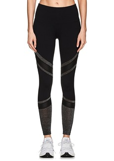 Electric Yoga Women's Metallic-Inset Leggings