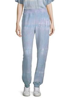 Electric Strand Tie-Dye Sweat Pants