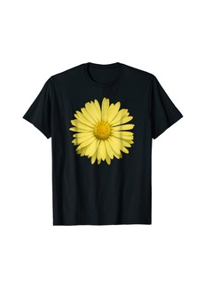 Electric Yellow Daisy T-Shirt Flower Rave Tee