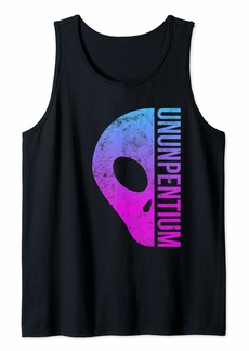 Cool Alien Gift 80s Vaporwave Element 115 Area 51 Conspiracy Tank Top