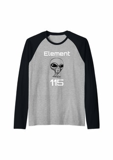 ELEMENT 115 Alien Fuel Raglan Baseball Tee