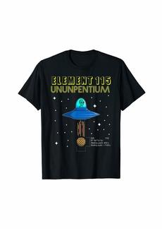 Element 115 Ununpentium Electron UFO Alien Area 51 Shirt