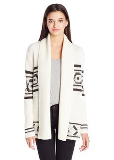 Element Juniors Broome Jacquard Cardigan Sweater