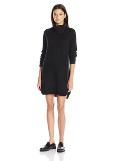 Element Juniors Eleventh Long Sleeve Turtle Neck Sweater Dress