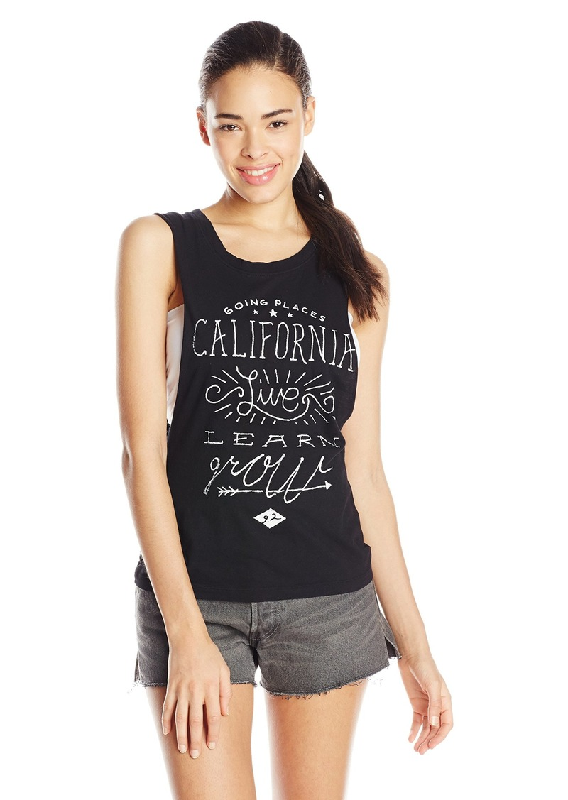 Element Juniors Going Places Jersey Muscle Tank