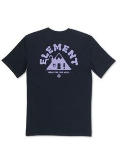 Element Men's A-Frame Logo Graphic T-Shirt
