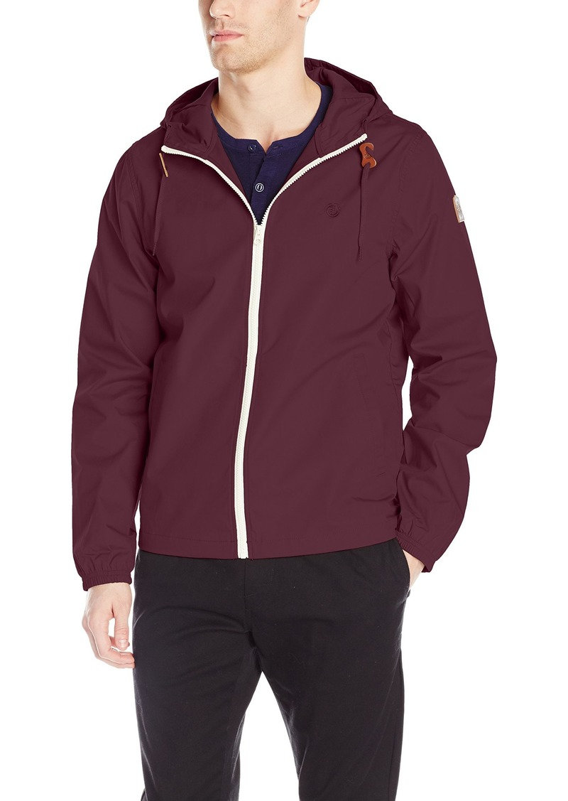 Element Men's Alder Light 3000mm Waterproof Jacket napa red M