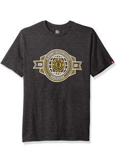 Element Men's Art T-Shirts Heathered Colors Insignia Charcoal