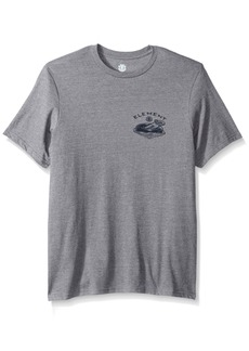 Element Men's Art T-Shirts Heathered Colors River Keeper Grey XL