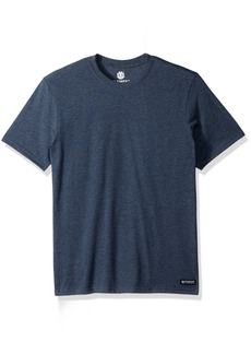 Element Men's Basic Crew Short Sleeve T-Shirt  S