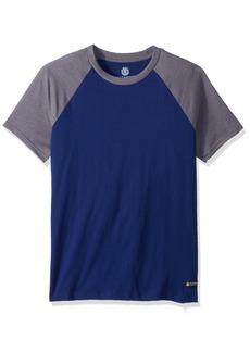Element Men's Basic Raglan Short Sleeve Shirt  M
