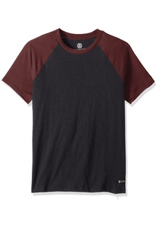 Element Men's Basic Raglan Short Sleeve Shirt  S