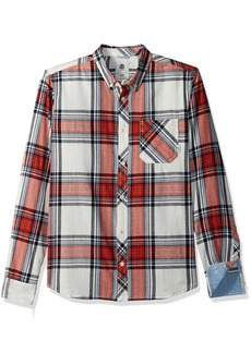 Element Men's Buffalo Long Sleeve Woven Shirt
