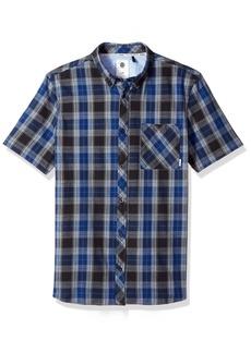 Element Men's Buffalo Short Sleeve Woven Shirt  L
