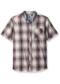 Element Men's Buffalo Short Sleeve Woven Shirt  S