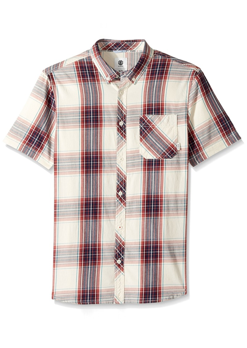 Element Mens Wendel Short Sleeve Woven Shirt