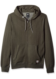 Element Men's Cornell Overdye Zip Hoodie  M