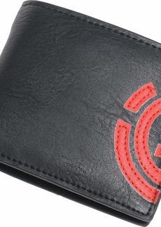 Element Men's Daily Bi-Fold Wallet FIRE RED