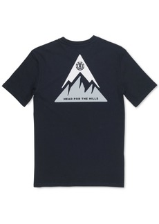 Element Men's Delta Logo Graphic T-Shirt