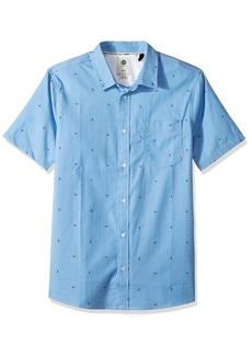 Element Men's Delta Oxford Flex Short Sleeve Woven Shirt