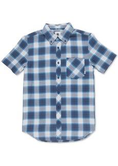 Element Men's Gradient Woven Plaid Shirt