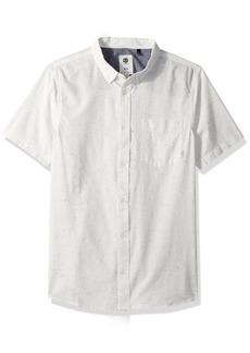 Element Men's Greene Neps Short Sleeve Woven Shirt  M