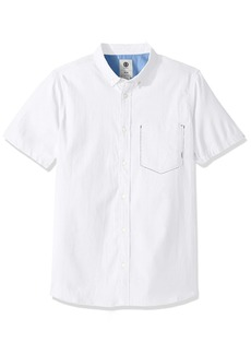 Element Men's Greene Short Sleeve Woven Shirt  Medium